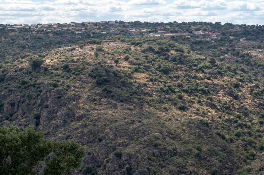 Vista para Cidadelhe, concelho de Meda