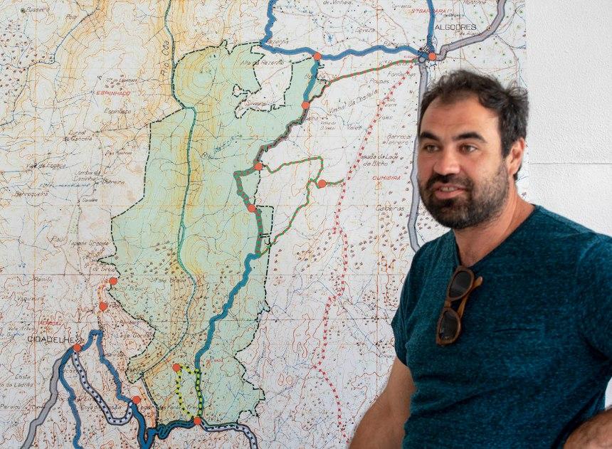 Marco Ferraz, colaborador da Associação Transumância e Natureza
