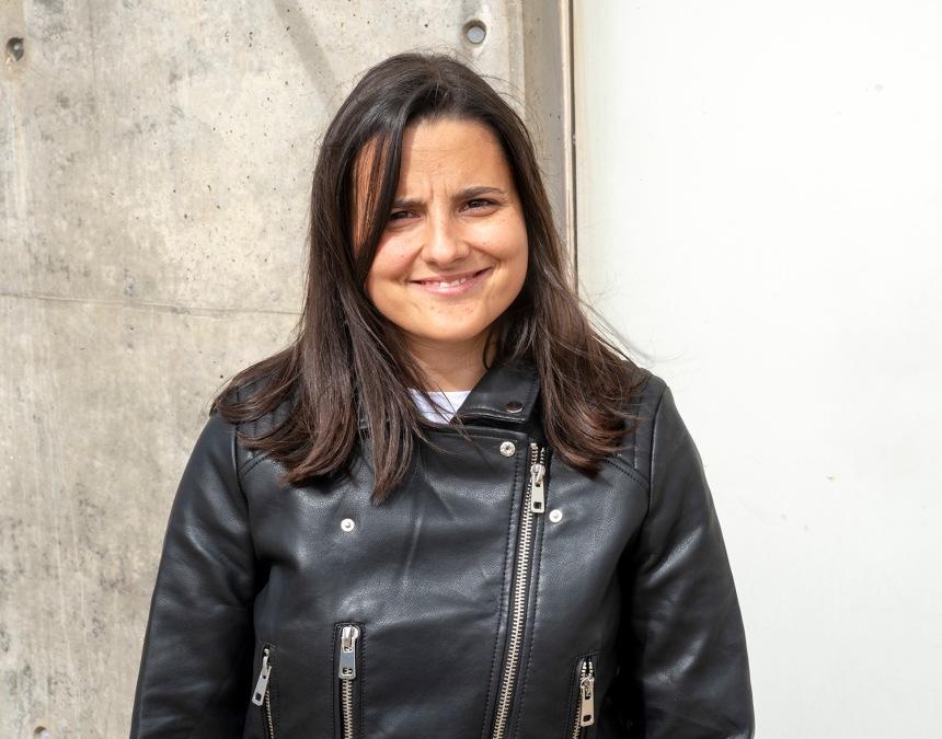Alexandra Paz, geóloga do Arouca Geopark