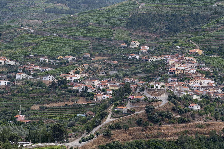 Vista para Nagoselo do Douro