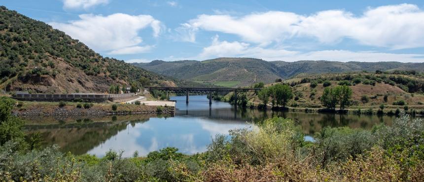 Foz do rio Águeda no Douro