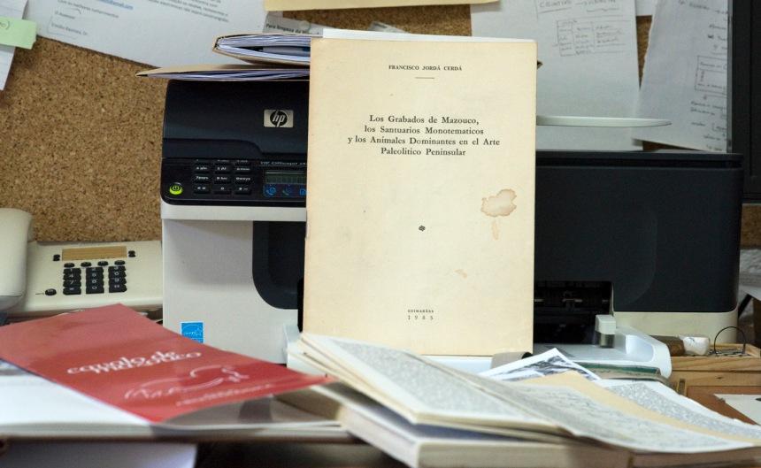 Registo de um especialista espanhol que confirma a tese de Nelson Campos de que se trata de uma gravura rupestre do Paeolítico